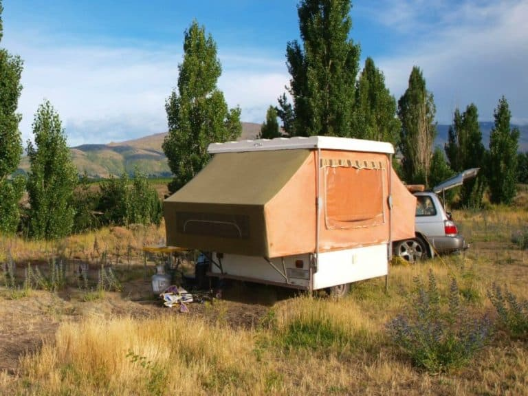 how much to replace canvas on pop up camper